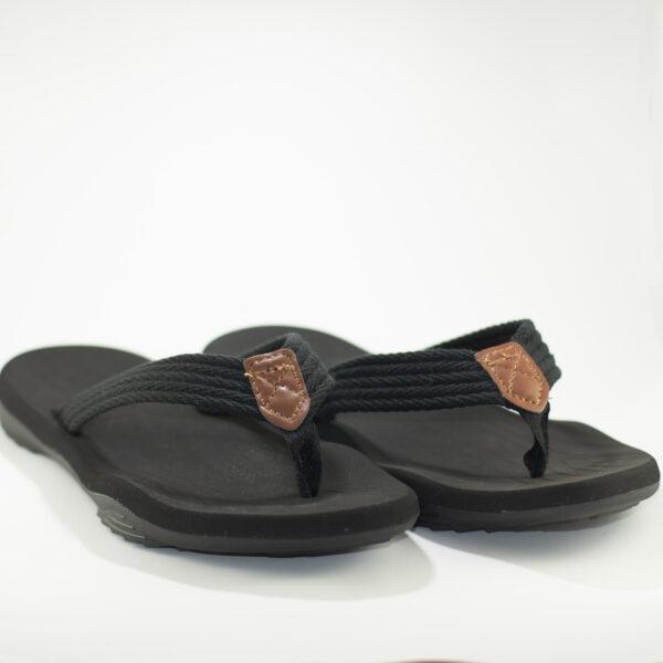sandalias negras caballero imagen