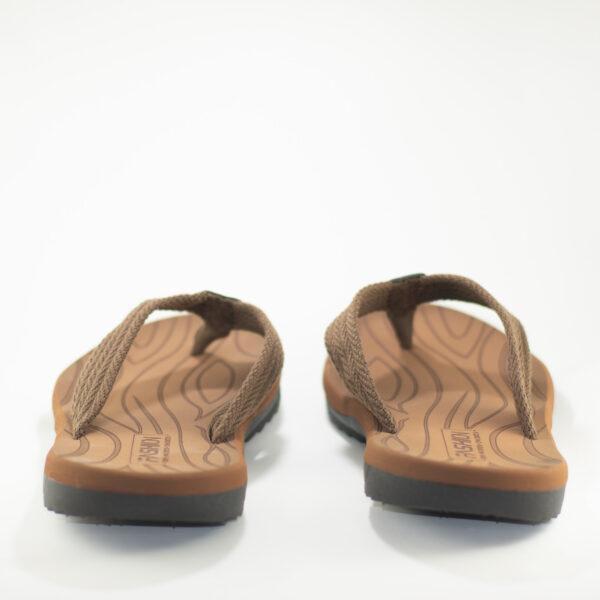 imagen trasera sandalias hombre